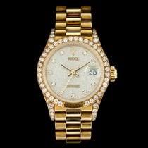 Rolex Lady-Datejust 69158 Очень хорошее Желтое золото 26mm Автоподзавод