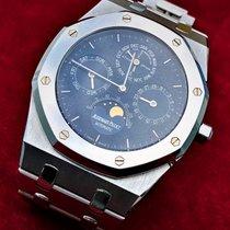 Audemars Piguet Royal Oak Perpetual Calendar Platina 40mm Blauw Arabisch