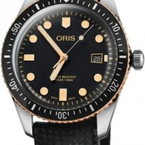Oris Divers Sixty Five 01 733 7720 4354-07 4 21 18 ORIS Divers Nero Gomma 42mm new