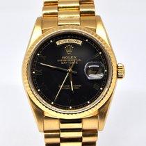 Rolex Day-Date 36 Oro amarillo 36mm Negro Sin cifras España, Marbella