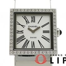 Chanel Mademoiselle Steel 23mm White
