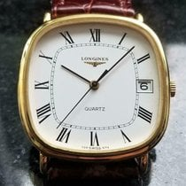 Longines Gold/Steel 34mm Quartz pre-owned