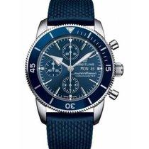 Breitling Superocean Héritage II Chronographe Acero 44mm Azul