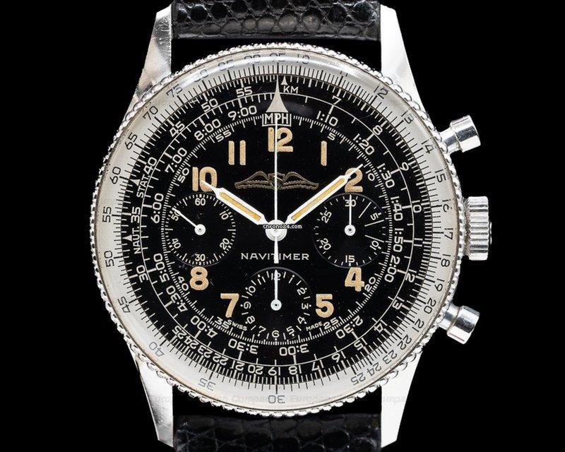 Breitling 806 Vintage All Black Aopa Navitimer 806 1961 31387