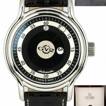 Gevril Steel 39mm Automatic 4131 new