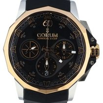 Corum Admiral's Cup Challenger Steel 44mm Black United States of America, Illinois, BUFFALO GROVE
