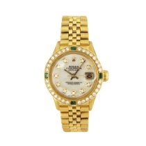 Rolex 6517 Yellow gold Oyster Perpetual Lady Date 26mm pre-owned United States of America, New York, New York