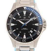 Hamilton Steel Automatic Black 40mm new Khaki Navy Sub