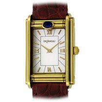 DeLaneau Women's watch Golden Dream Shutter 30mm Quartz new Watch with original box