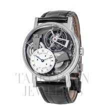 Breguet Tradition Platinum 41mm Transparent Roman numerals United States of America, New York, Hartsdale