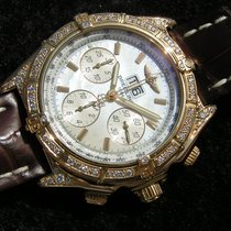 Breitling Crosswind Special Yellow gold 43.7mm Mother of pearl No numerals
