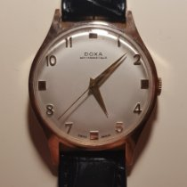 Doxa Rose gold Arabic numerals pre-owned