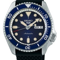 Seiko 5 Sports Steel 43mm Black