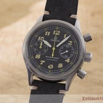 Omega Dynamic Chronograph Steel 38.5mm Black