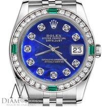 Rolex Lady-Datejust occasion 31mm Bleu Date Acier