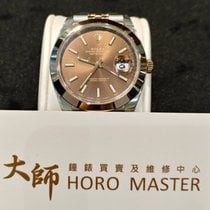 Rolex Horomaster- 1Datejust 41mm Steel and Everose Gold Choco...