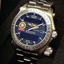 Breitling Emergency Orbiter III  E56321 - Serviced By Breitling