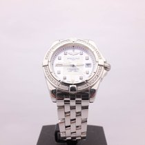 Breitling Windrider Cockpit Ladies Diamonds Ref.A71356