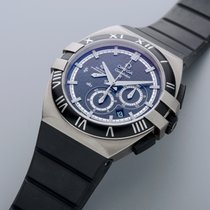 Omega Constellation Double Eagle nuevo Automático Cronógrafo Reloj con estuche y documentos originales 121.92.41.50.01.001