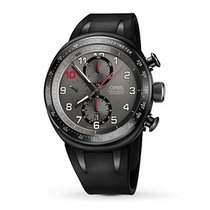 Oris TT3 Titanium 45.50 mmmm Grey Arabic numerals United States of America, New York, New York City