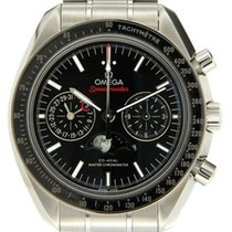Omega Speedmaster Professional Moonwatch Moonphase Acero 44,25mm Negro Sin cifras