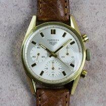 Heuer Vintage Carrera Ref. 2456 18kt Yellow Gold Chronograph