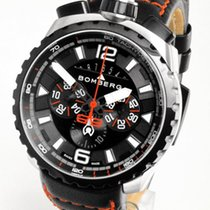 Bomberg Bolt-68 Steel 45mm Black