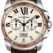 Cartier Calibre de Cartier Chronograph W7100043 2019 new