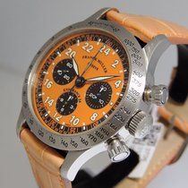 Franck Muller Steel Manual winding Orange Arabic numerals 37mm pre-owned
