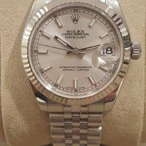 Rolex Lady-Datejust Acciaio 31mm Argento Senza numeri Italia, Siena