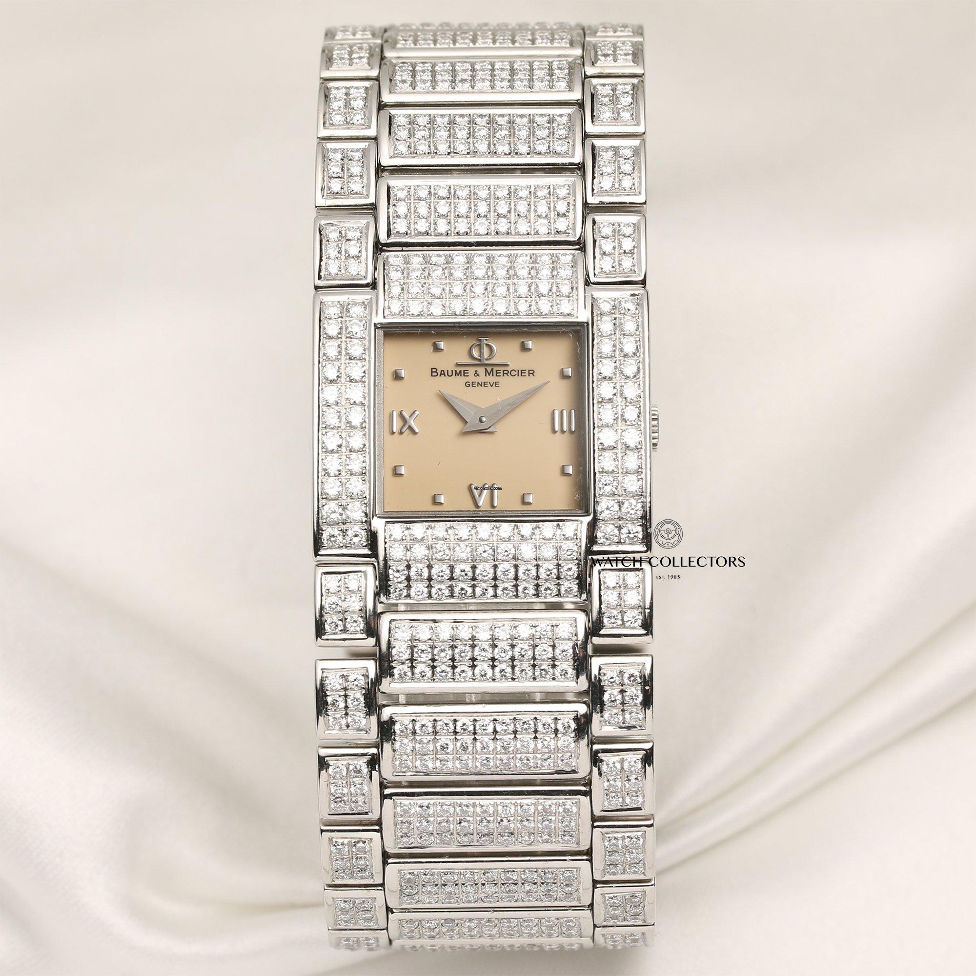 Baume & Mercier Rare Catwalk Full Original Diamond Set