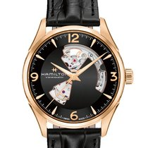 Hamilton Jazzmaster Open Heart new 2019 Automatic Watch with original box and original papers H32735731