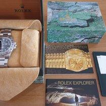 Rolex Explorer II Staal 42mm Zwart Geen cijfers