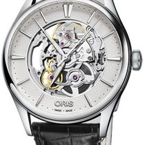 Oris Artelier Skeleton 01 734 7721 4051-07 5 21 64FC 2019 new