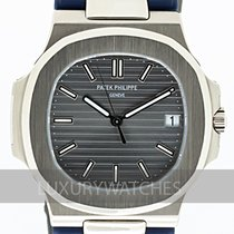 Patek Philippe 5711G-001 White gold 2010 Nautilus 40.8mm pre-owned