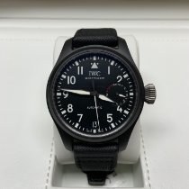 IWC Big Pilot Top Gun Keramiek 46mm Zwart Arabisch