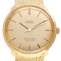 Omega Seamaster DeVille Yellow gold 31.5mm Champagne