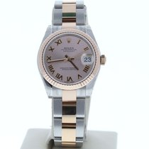 Rolex Lady-Datejust nuevo 2010 Automático Reloj con estuche original 178271