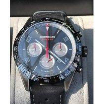 Montblanc Timewalker Steel 43mm Black No numerals