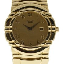 Piaget Tanagra pre-owned 33mm Champagne Date Yellow gold