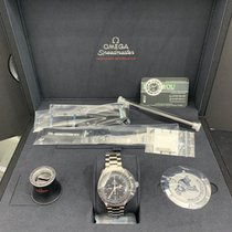 Omega Acero Cuerda manual Negro Sin cifras 42mm nuevo Speedmaster Professional Moonwatch