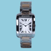 Cartier TANK ANGLAISE Stahl/Rotgold -NEU- incl. VAT Export...