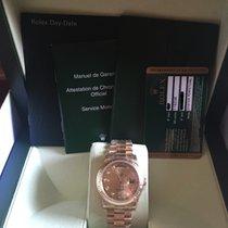롤렉스Day-Date / President,새 시계/미 사용,박스 있음, 서류 있음,옐로우골드