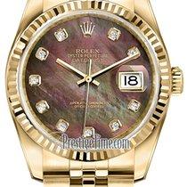 Rolex Datejust nuevo Automático Reloj con estuche y documentos originales