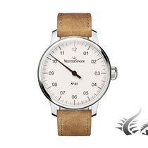 Meistersinger N1 Automatic, Manual Winding, White