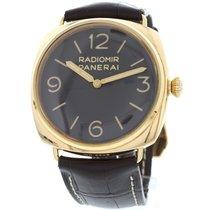 Panerai Radiomir 18K Rose Gold Watch PAM00379