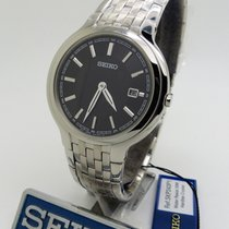 Seiko new Quartz 37mm Steel Mineral Glass