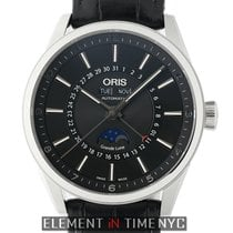 Oris Artix Complication Steel 42mm Black United States of America, New York, New York
