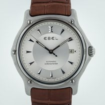 Ebel 1911 Steel 38.8mm Silver United States of America, California, Pleasant Hill
