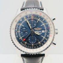 百年靈 (Breitling) Navitimer World GMT Blue